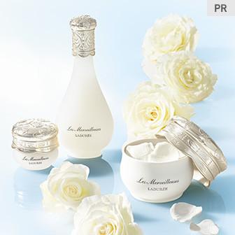白いバラの魅力を封じ込めたスキンケア