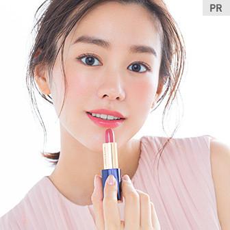 桐谷美玲さん 春の気分は桜色リップ