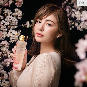人気化粧水でフレッシュな桜色の肌へ!