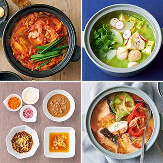 肌・心・体の効く 悩み別美鍋レシピ