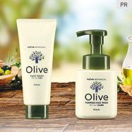 オリーブ由来の保湿成分でうるおう素肌へ。「ナイーブ ボタニカル」に洗顔シリーズ登場