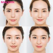 顔型別の小顔見せメイクを教えます!【顔タイプがわかるチェック診断付き】