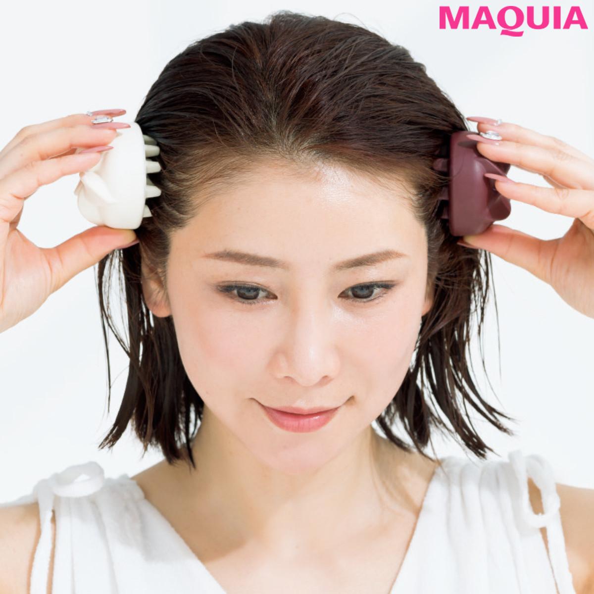 50歳でもこの美髪! たるみ予防にも一役買う、水谷雅子さんのお風呂ケアを大公開