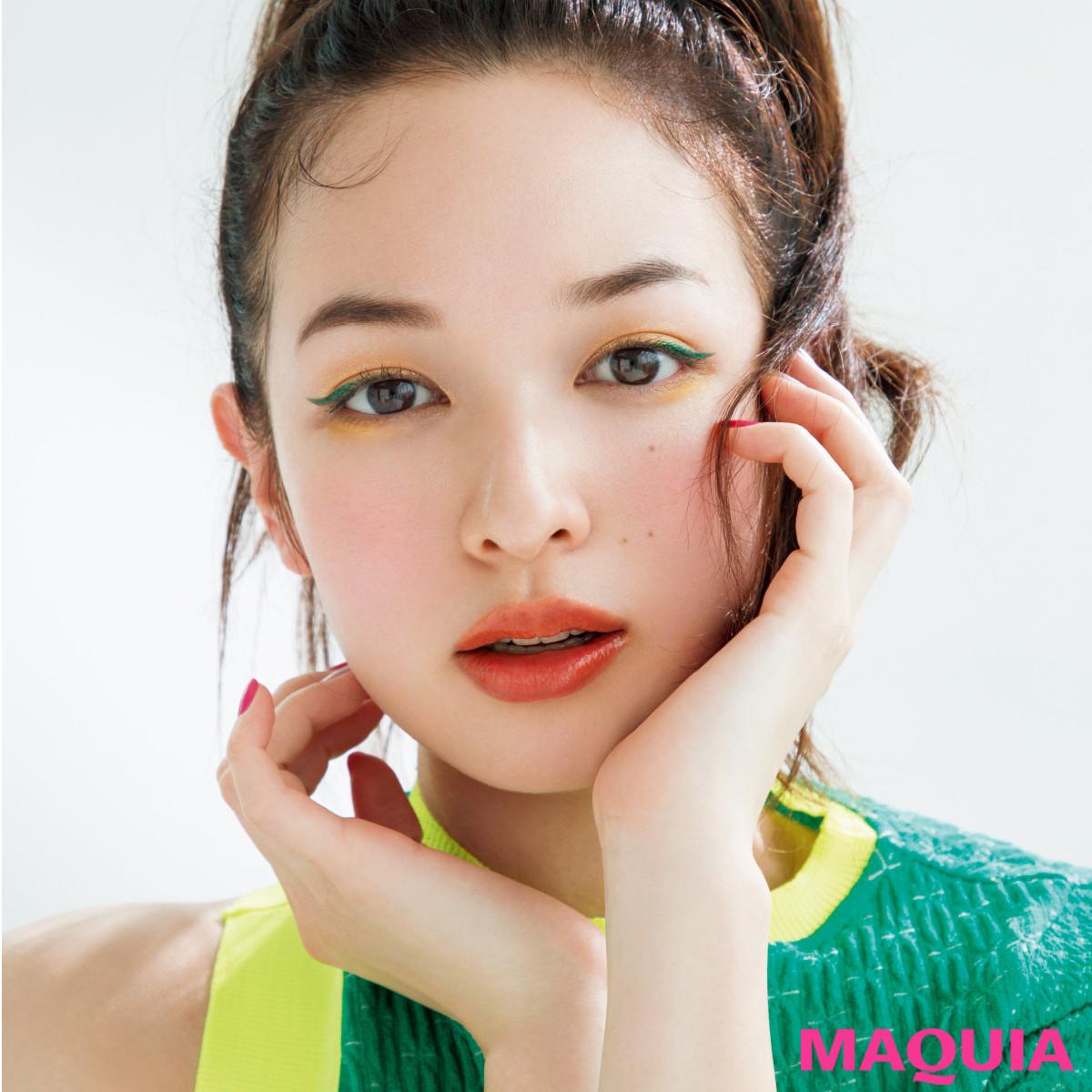 ルナソルの夏新色はグリーン×イエローがイチオシ! 千吉良さんが提案する夏顔メイク