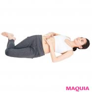 便秘になりにくい体を作る呼吸&腸もみテクニックでお腹すっきり!