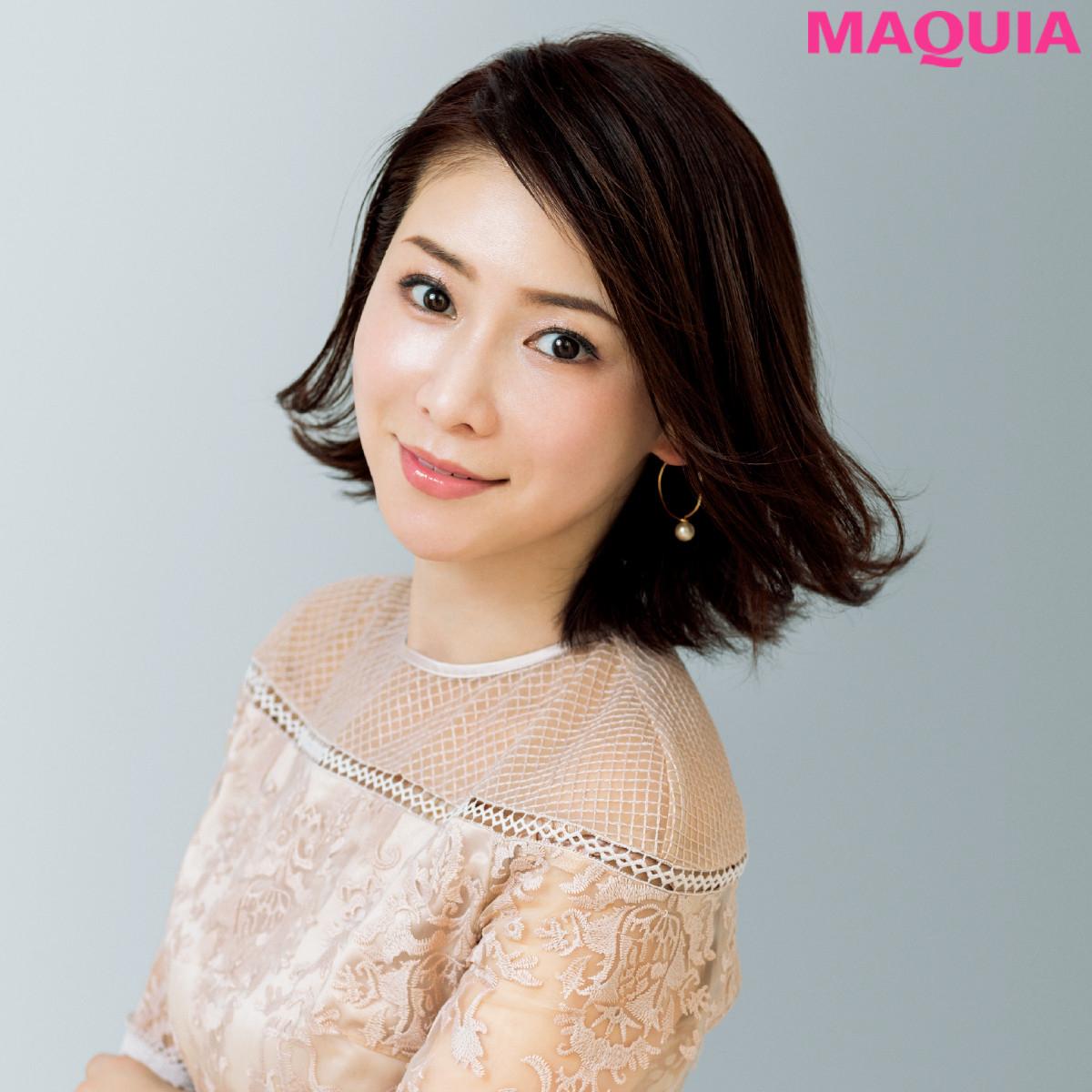 「くすんで見えるものは使わない!」  奇跡の50歳・水谷雅子さんのメイクルールを大公開
