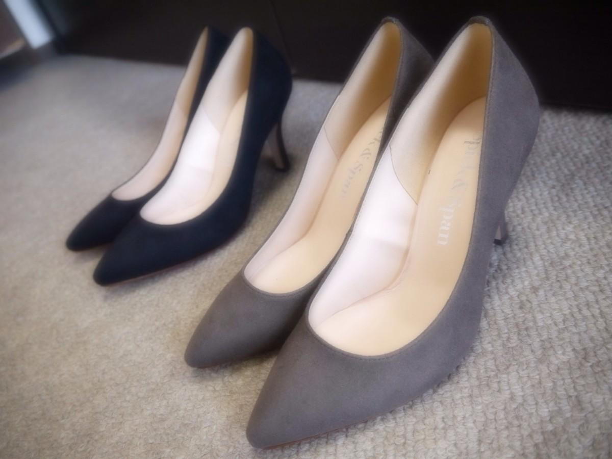 シンプルで綺麗な形の靴が好きすぎる♡