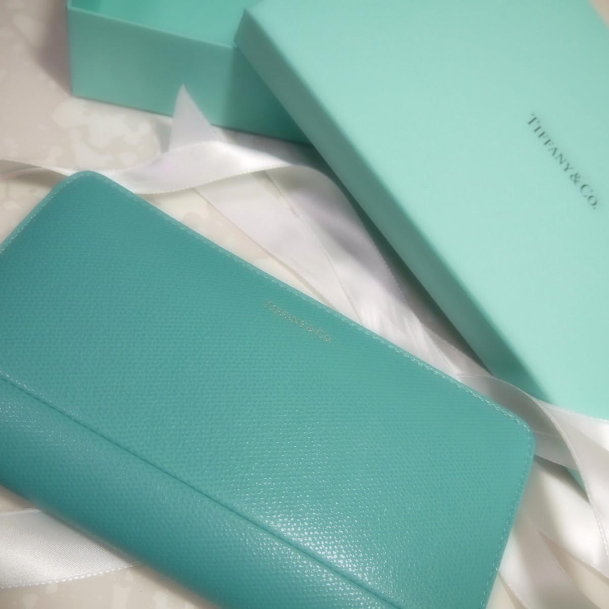 ティファニーの長財布に変えました♡
