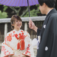 【wedding】京都で和装前撮り*おしゃれな写真も自然な写真もラヴィ・ファクトリー