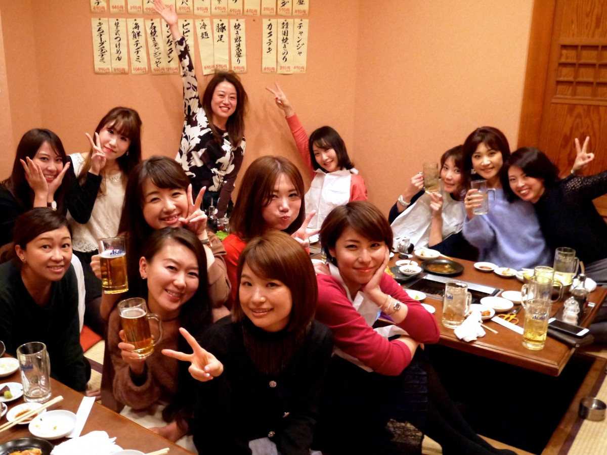 エキスパート&アンバサダー飲む食べ大新年会♡♡今年もよろしくお願いします!