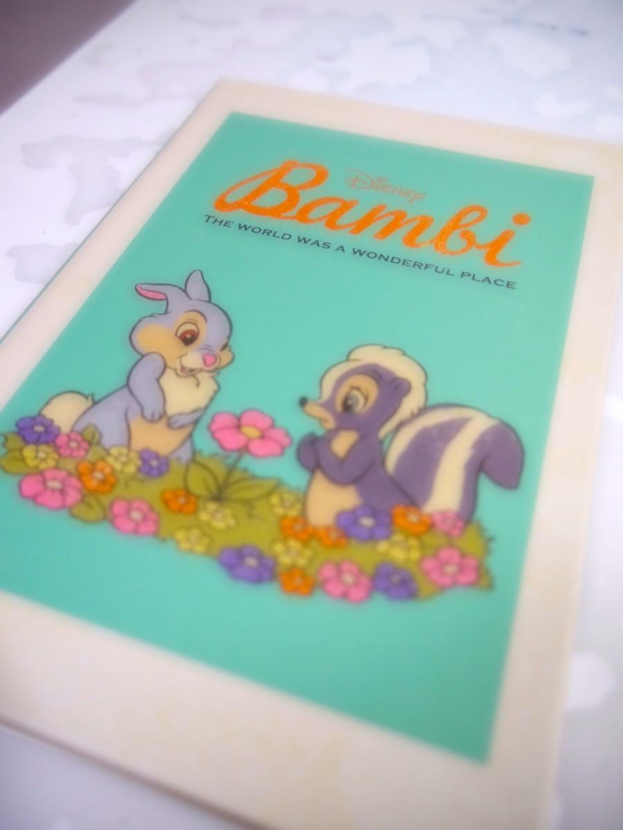 かわいすぎるバンビ手帳♡♡