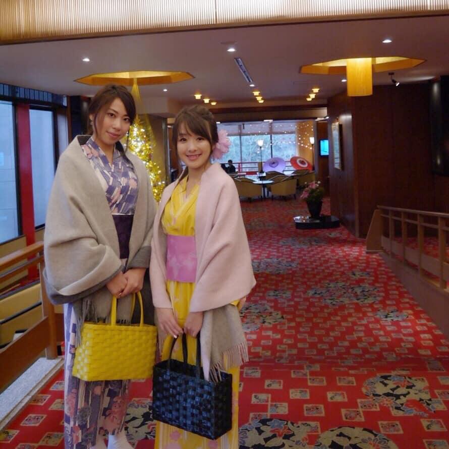 【女子旅】贅沢温泉宿で浴衣女子旅!美味すぎる日本酒情報も*吉祥やまなかレポート前編
