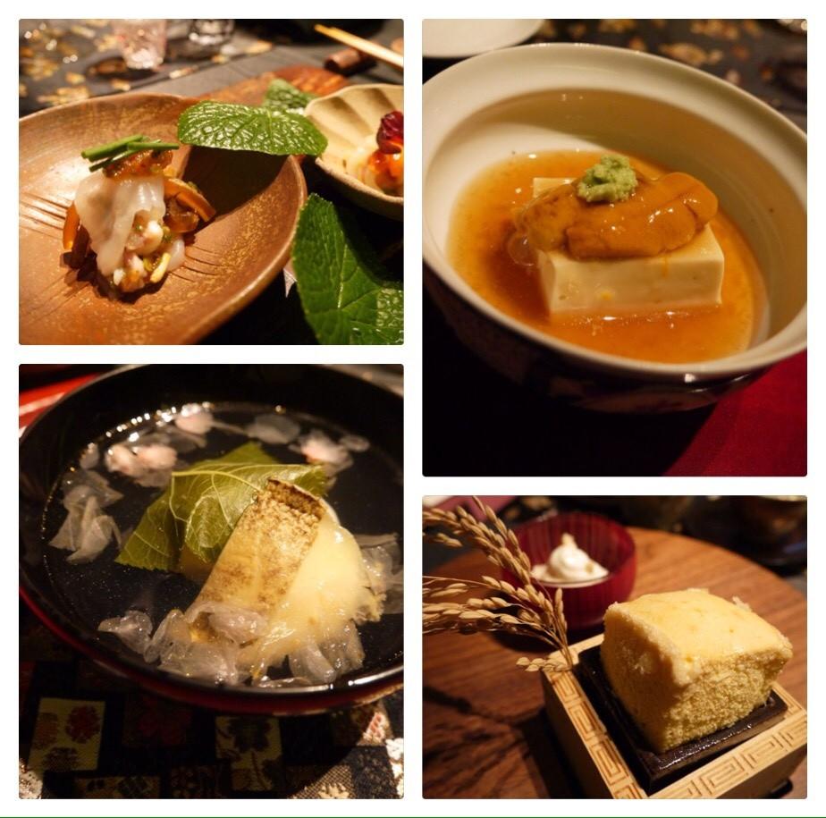 六本木の3つ星レストランで味わう創作日本料理に感動♡