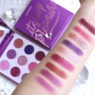 【海外コスメ】COLOURPOP 大人気の紫パレット❤It's My Pleasure!全色スウォッチ&メイク
