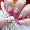 セルフでクリスマスネイルを楽しもう☆リース&ツリーデザインを、大人の赤のフレンチで❤動画