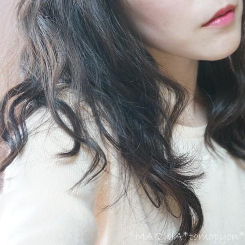 """黒髪×デジタルパーマで春の""""ゆるウェーブ""""ヘア♪前髪にもパーマがおすすめ!"""