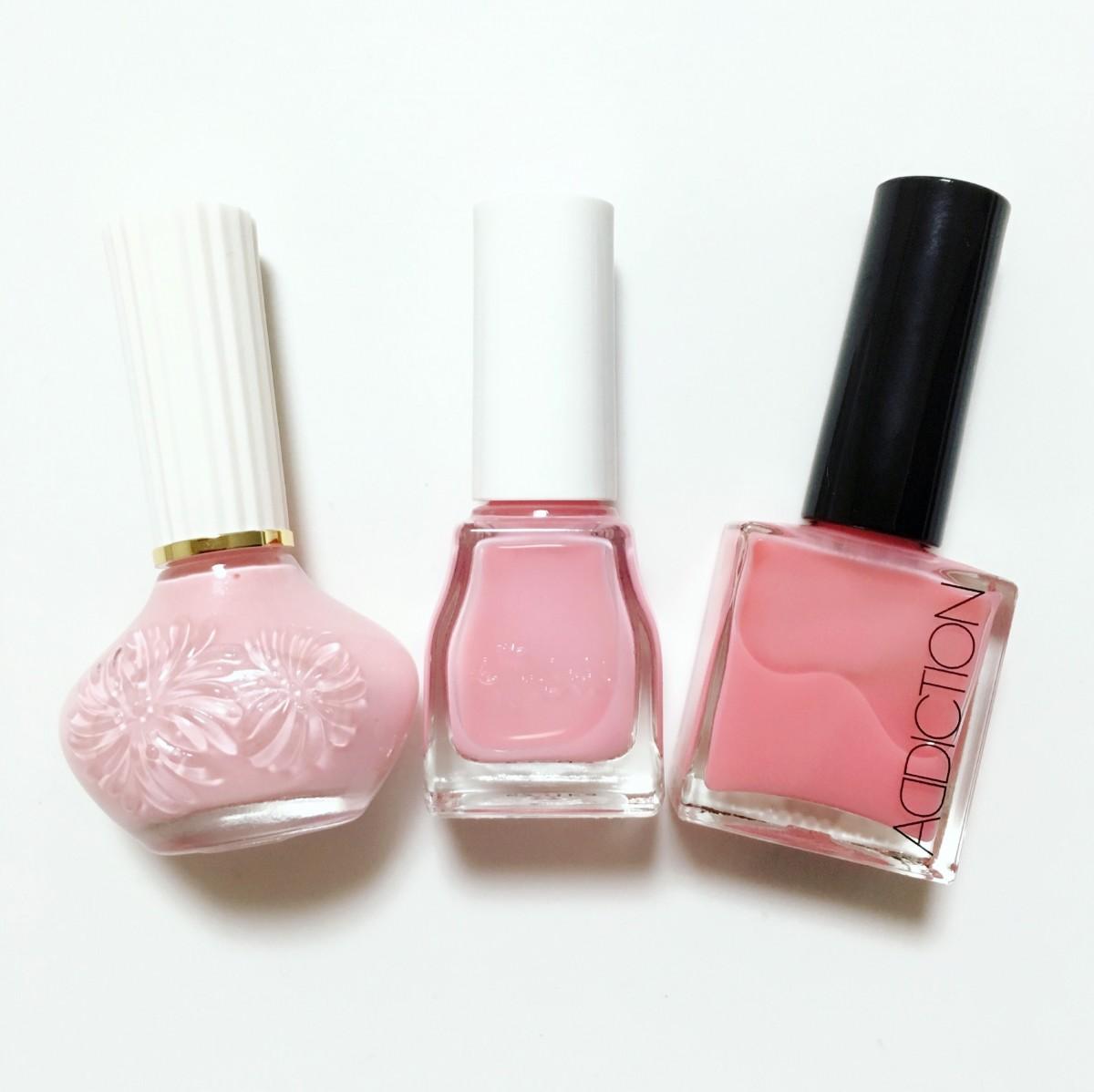 手肌をキレイに見せる ❤︎ ナチュラルピンクのネイルカラー