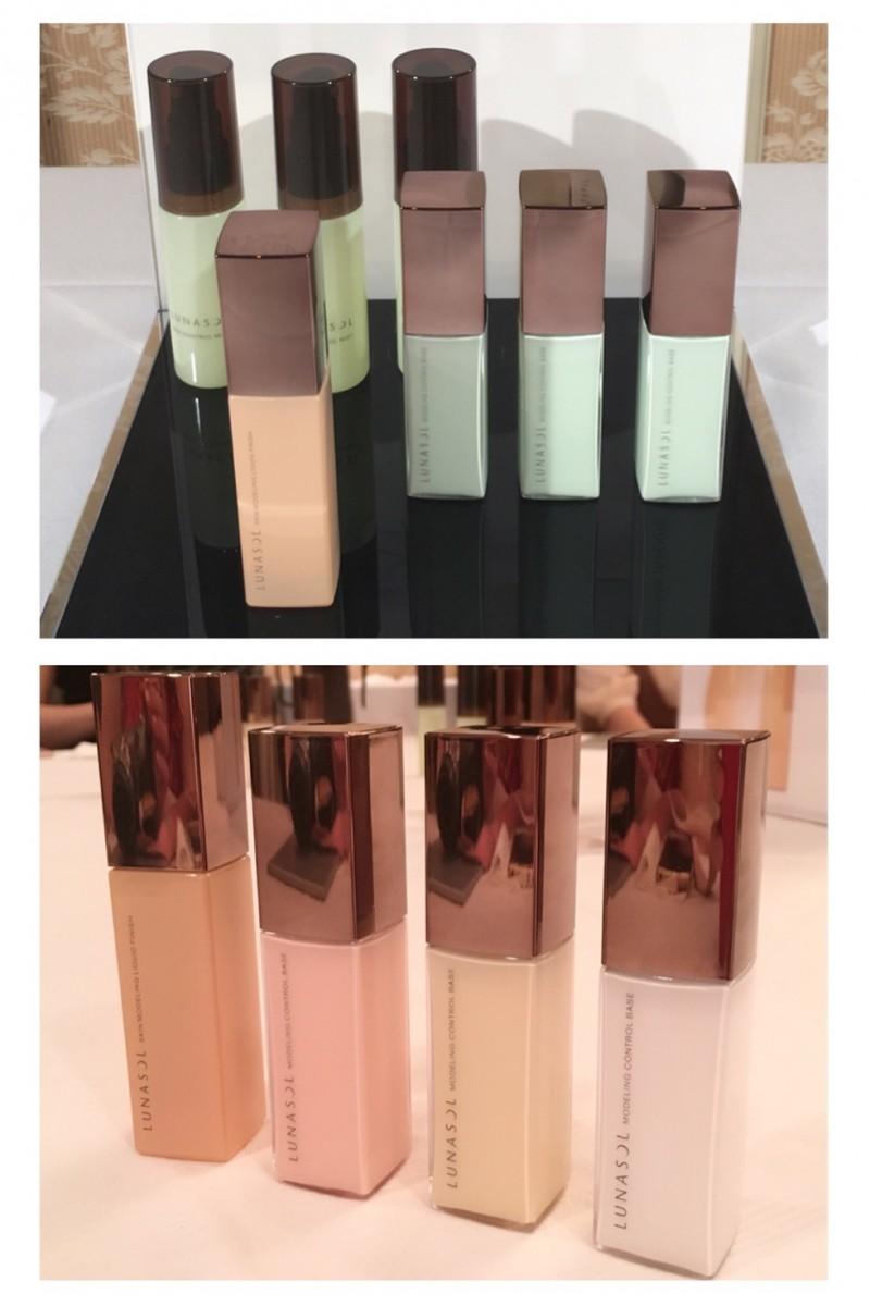 ルナソルのベースメイク、肌の透明感を引き出すキーカラーは「グリーン」!