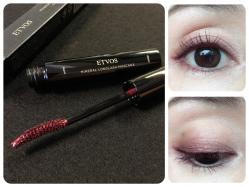 """【大人のカラーメイク】ETVOS(エトヴォス)""""ボルドー""""カラーマスカラで目元に色っぽさをひとさじ。"""