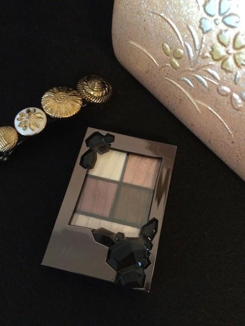プチプラ♪ ヴィセの新アイシャドウ「シマーリッチ アイズ」× ピンクのお着物