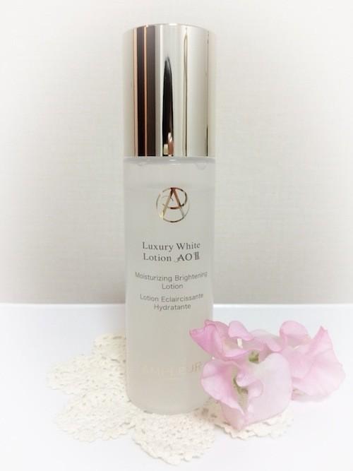 新安定型ハイドロキノン、トリプルセラミド配合。アンプルールの美白化粧水