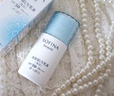 紫外線からも乾燥からもお肌を守る!ソフィーナ 高保湿UV乳液♡