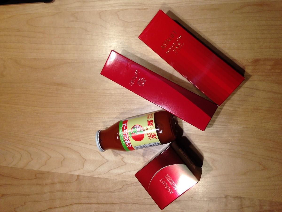 赤効果✴︎アスタリフト リコピン成分配合の洗顔料