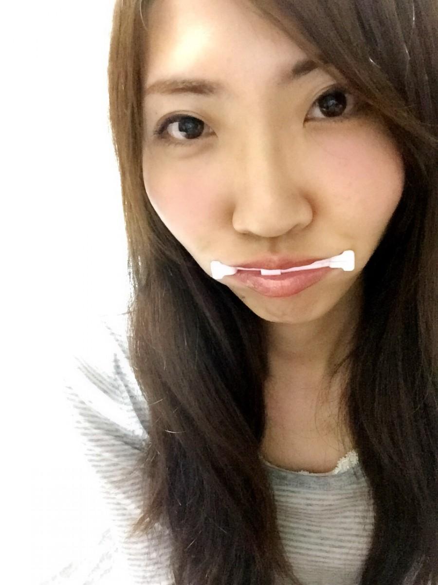 私の小顔テク☆口角エクササイズ!