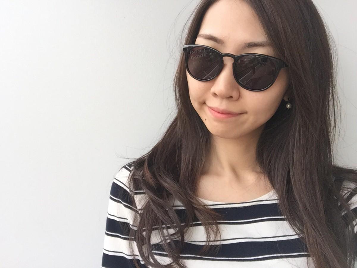 瞳の紫外線対策に☆UNIQLO ボストンサングラス