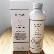 【夏の肌は先手必勝!】ETVOS「薬用アクネVCローション」