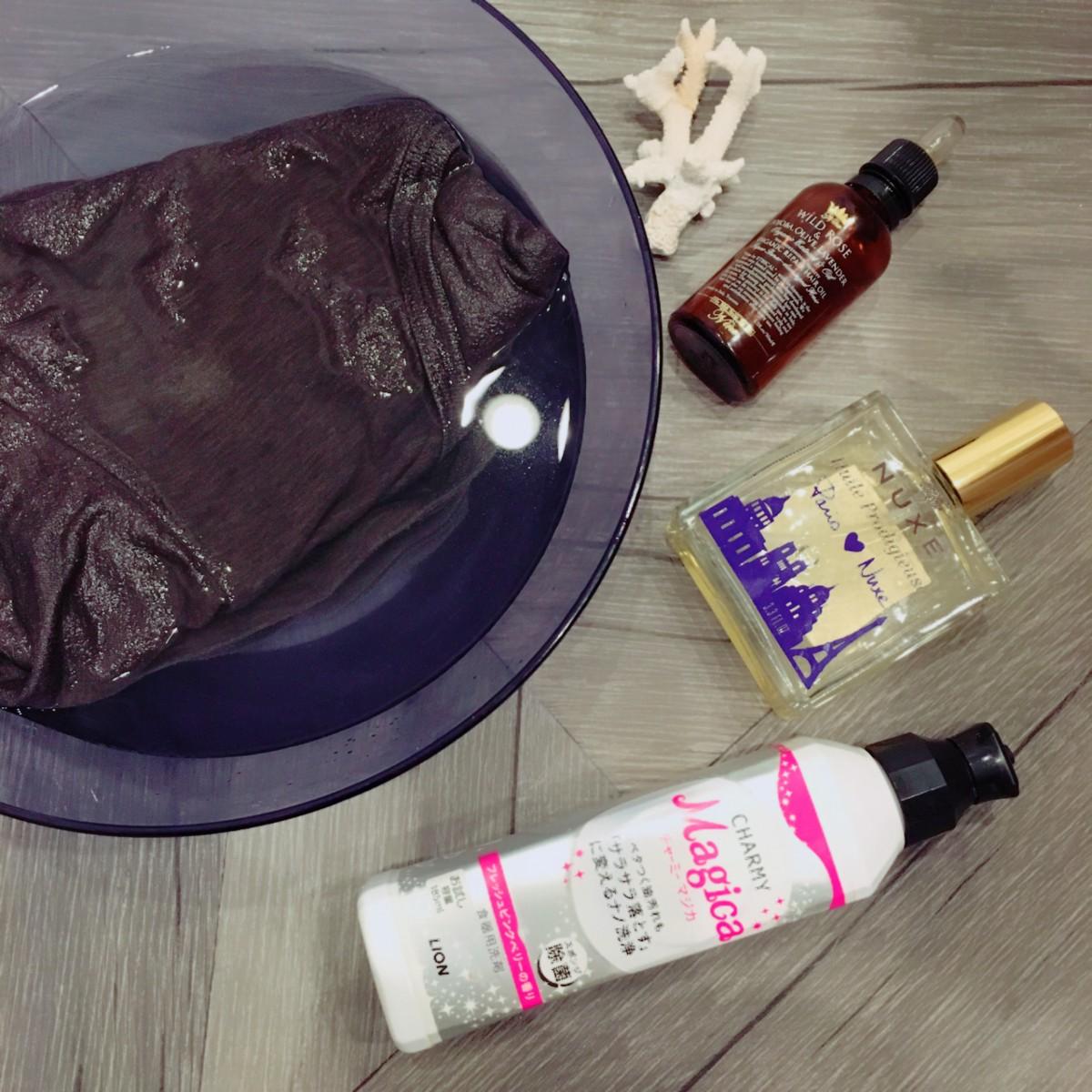 オイル美容の落とし穴!服やシーツについてしまった油の酸化臭を落とす方法