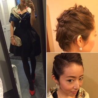 3ステップで簡単♥およばれヘア&スタイル