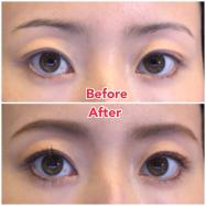 目と眉毛を近づけて若々しく&目ヂカラUPに見せる簡単おすすめアイメイク方法4選