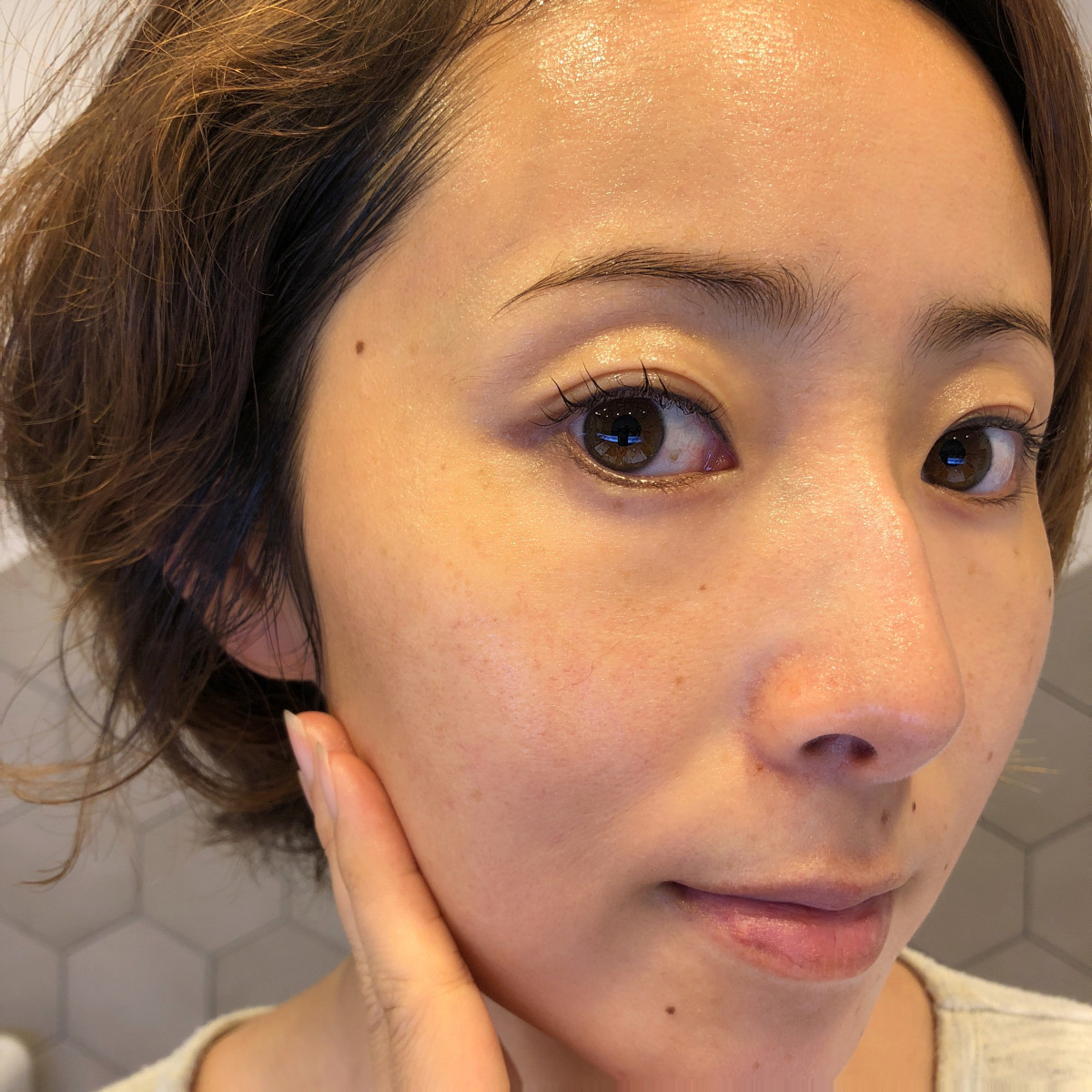 """今回紹介する化粧水の中では、  """"保湿""""を重視するとこれが一番かも!?  という印象。"""