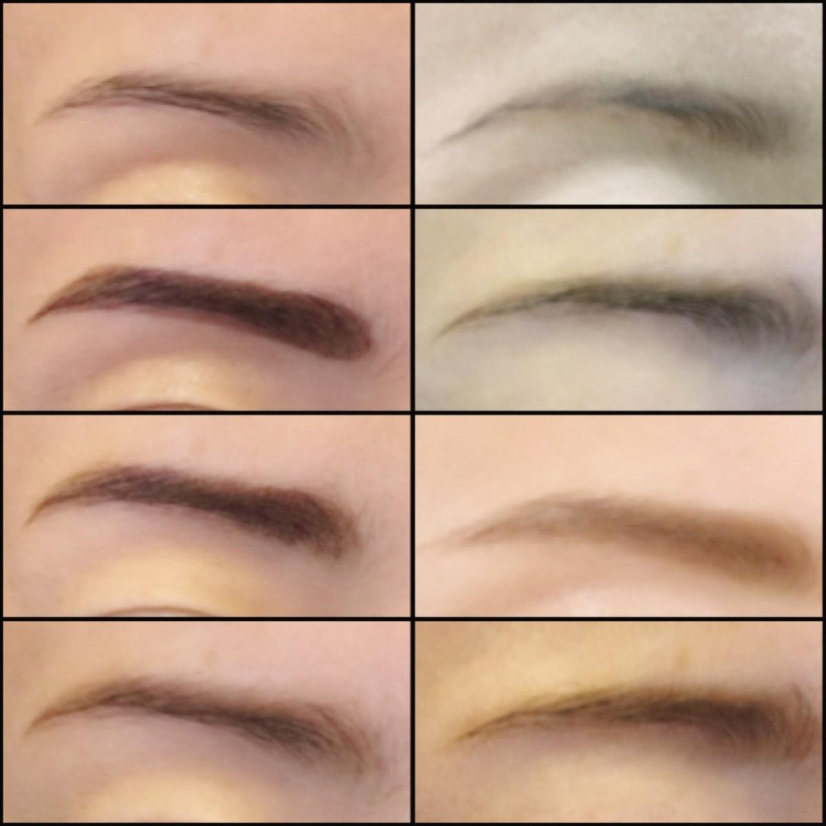 メイク時間を5分短縮!人気の眉ティントで眉毛の描き方!