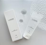 【韓国ブランドLAGOM】すっきりみずみずしく洗い上げてくれる泡立たない「朝用」ジェル洗顔