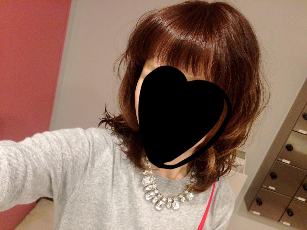 秋っぽスタイルにヘアチェンジ!