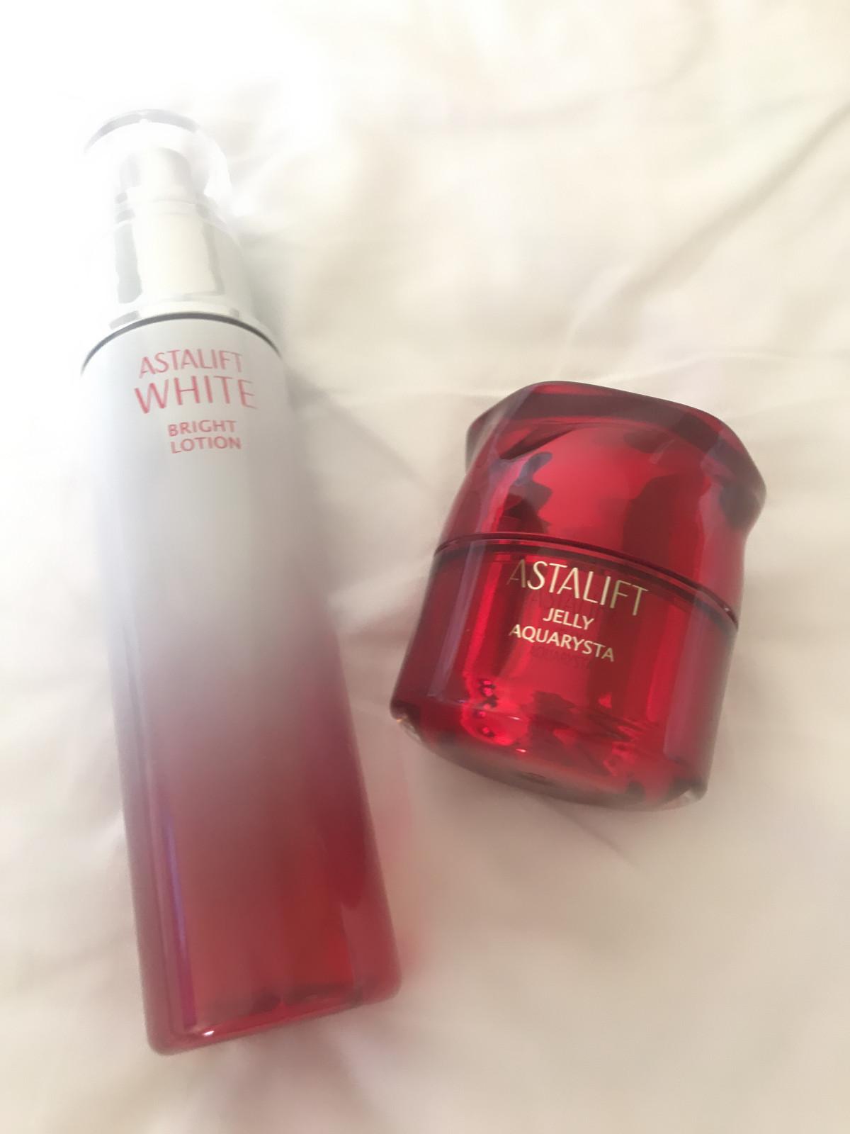 赤の美白とぷるぷるジェリーで夏のお疲れ肌改善!