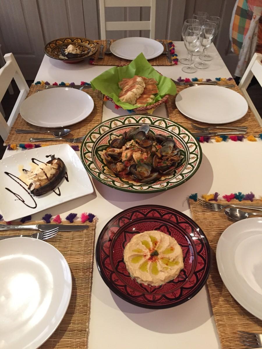 ヘルシー♡モロッコ料理!