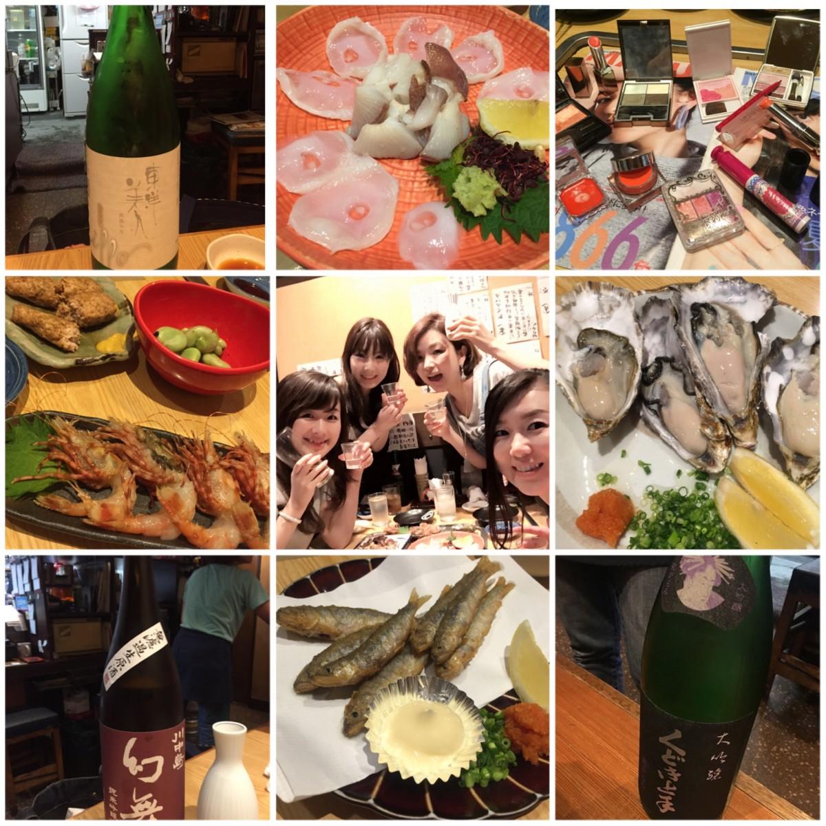 MAQUIAっ子の日本酒女子会で、おすすめコスメ情報get!