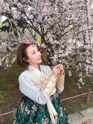 韓国コスメで春メイク