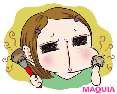 【顔の角質ケア】角質が溜まる肌のNG習慣:メイクブラシ、洗ったことありません