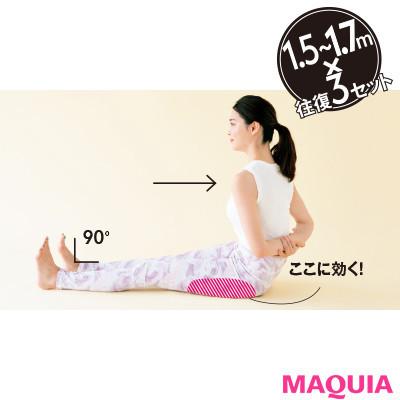 【本気で痩せたいあなたに】下半身の後ろ側の筋肉を増量「後ろ尻歩きトレ」2