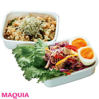 【ダイエットにもおすすめの食事やメニューは? Atsushi流レシピ】_コンビニの優秀食材も活用! 美肌&美腸に効くAtsushi流ランチ3つのポイント