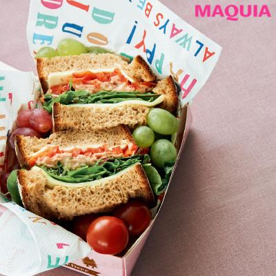 【ダイエットにもおすすめの食事やメニューは? Atsushi流レシピ】_全粒粉パンのボリュームサンドイッチ