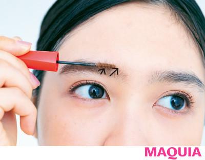 【2020年トレンド眉の書き方】眉メイクの基本④眉マスカラで毛流れを整える_2