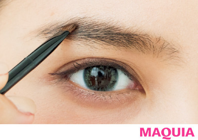 【トレンド眉メイク】誰にでも似合う「美人眉」の描き方5