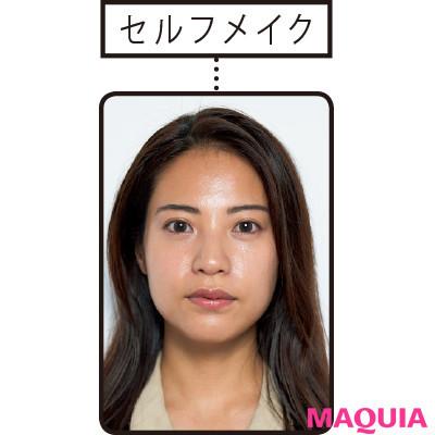 【長井かおりさんのメイクテク | アイシャドウ、チーク、リキッドファンデーションの使い方】すっと通った鼻筋になりたい! 自力でできる細鼻メイク_1