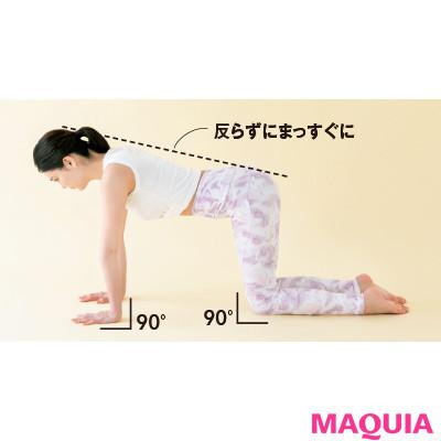 【本気で痩せたいあなたに】お尻を立体的にする「よつんばいトレ」1
