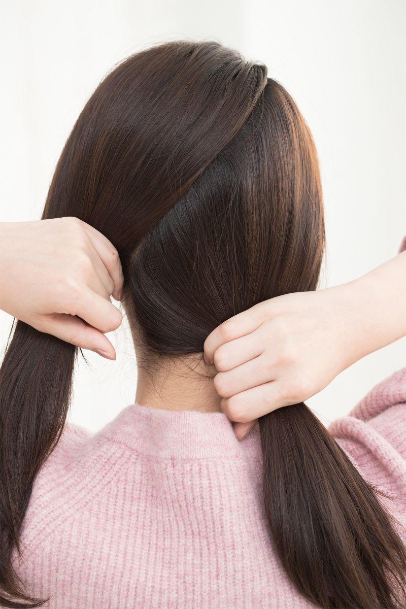 【ヘアカタログ | 髪型別・前髪ありのおすすめヘアアレンジまとめ】愛らしいサイドまとめアレンジで大人ガーリーに_3